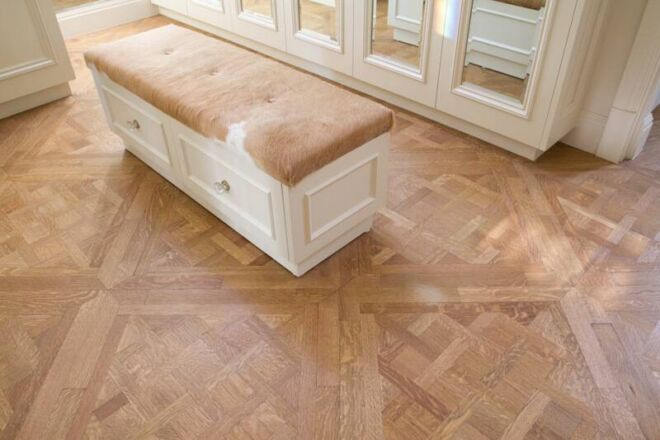 parquet recycled timber