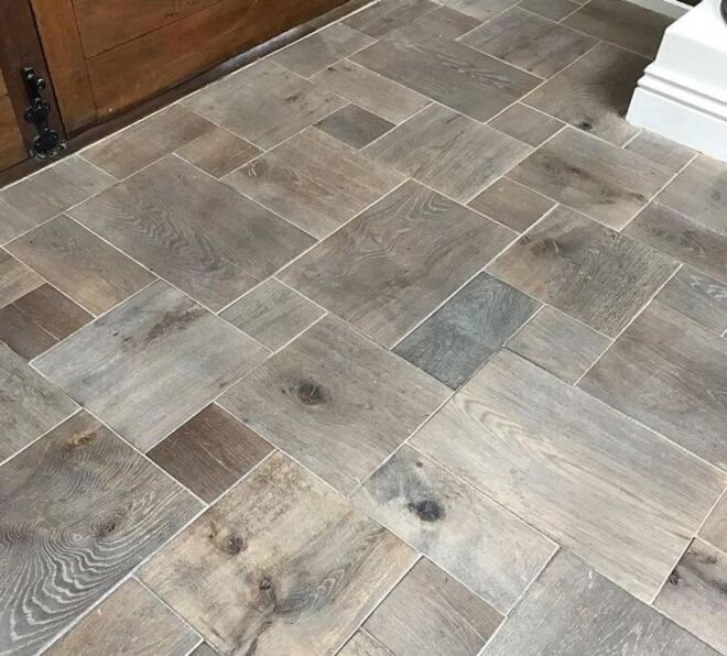 flagstone pattern grey oil